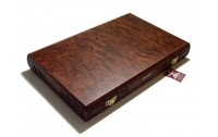 Rosewood carved  Backgammon with racks No 362