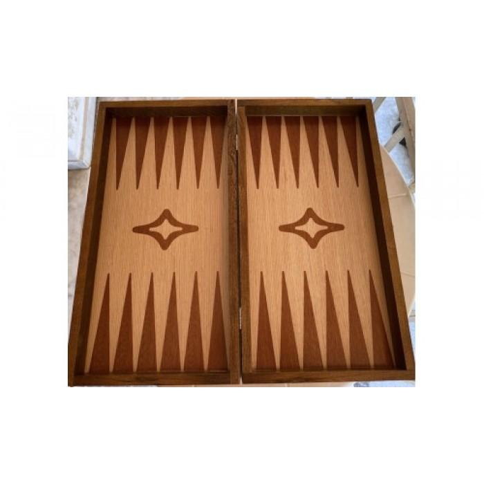 Palysander backgammon set