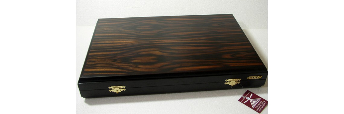 Ebony backgammon