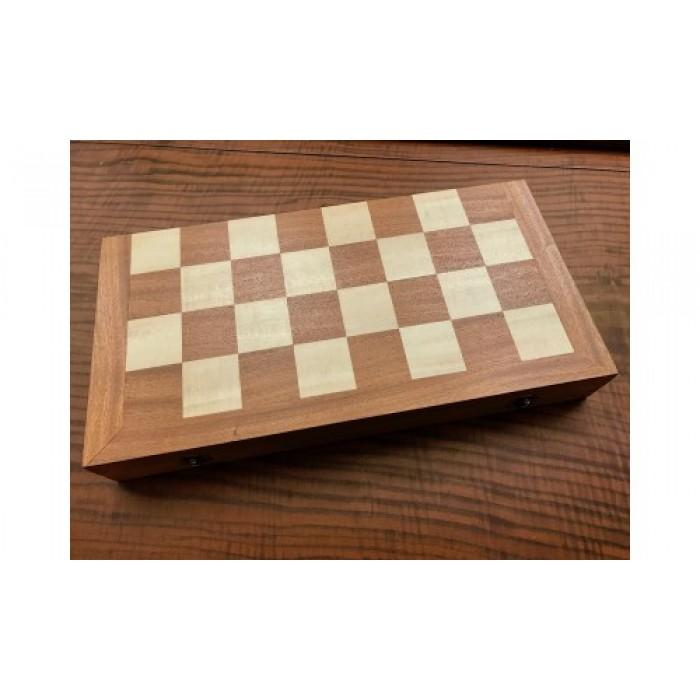 Backgammon and chess backgammon set