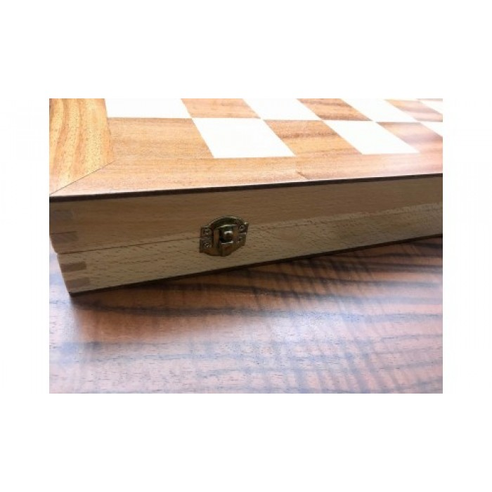 Backgammon and chess backgammon set