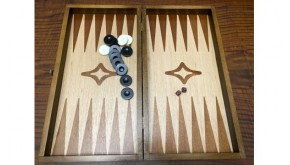 Backgammon ebony venner  backgammon set