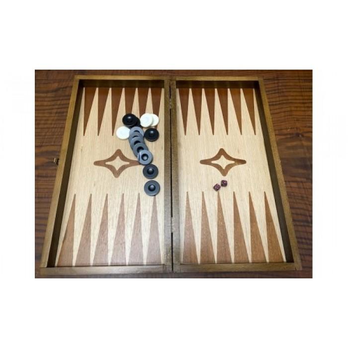 Backgammon ebony venner  backgammon set