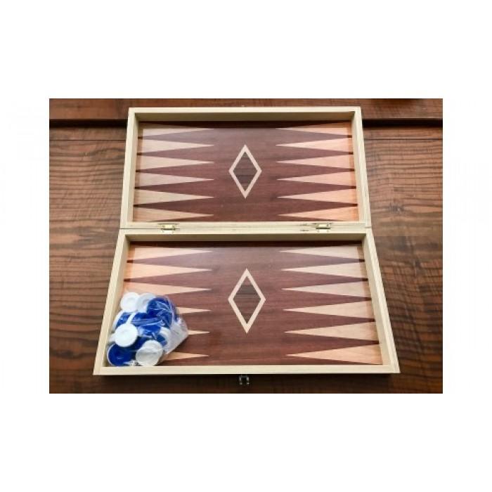 Printed Chess - Backgammon set
