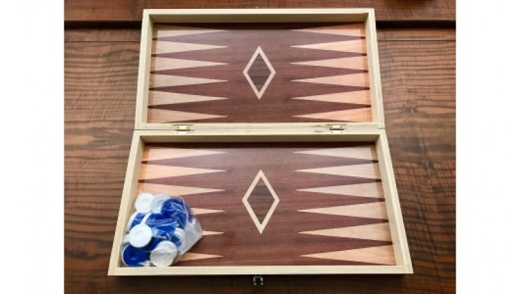 Printed Chess - Backgammon set