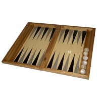 Backgammon sets with racks