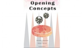 Opening Concepts:  (Backgammon Odyssey) - book (author: Michihito Kageyama)