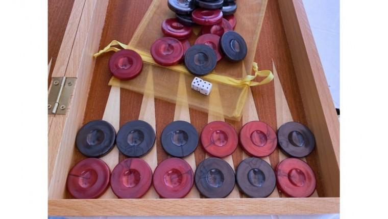 Backgammon checkers perl plastic